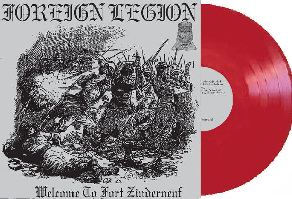 Foreign Legion - Welcome To Fort Zinderneuf LP (LIMITED RED
