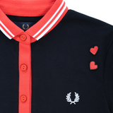 Fred Perry Amy Winehouse Red/Black Polo Dress - Limited Edition