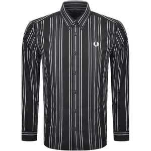 Fred Perry Striped Button Up Shirt