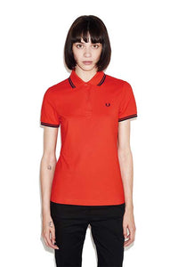 Fred Perry Polo Bright Red (Only UK 10/US Size 6 Left!
