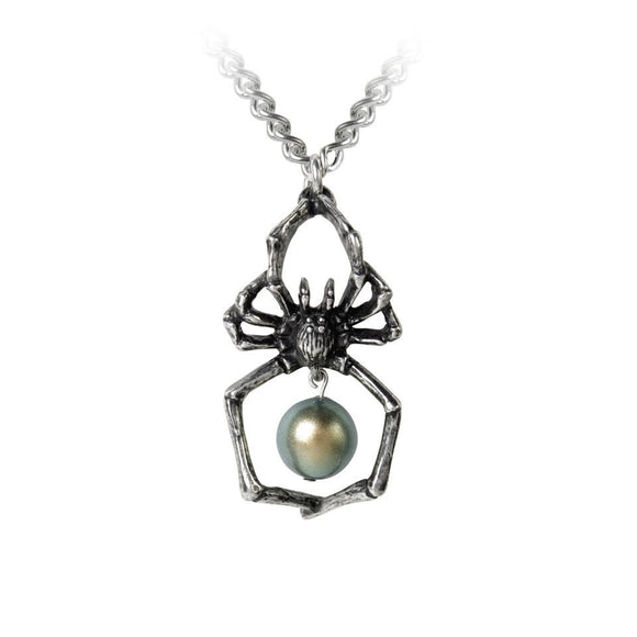 Glistercreep Spider Necklace - DeadRockers