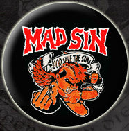 Mad Sin 'God Save the Sin' Pin