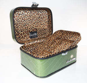 Go Go Vanity Case Martini Green Sparkle