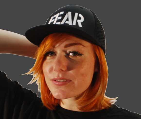 FEAR Logo Flexfit Hat