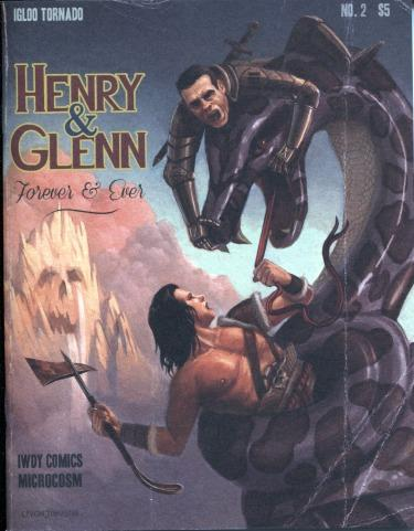 Henry & Glenn Forever And Ever Comic #2 (Alternative Cover)