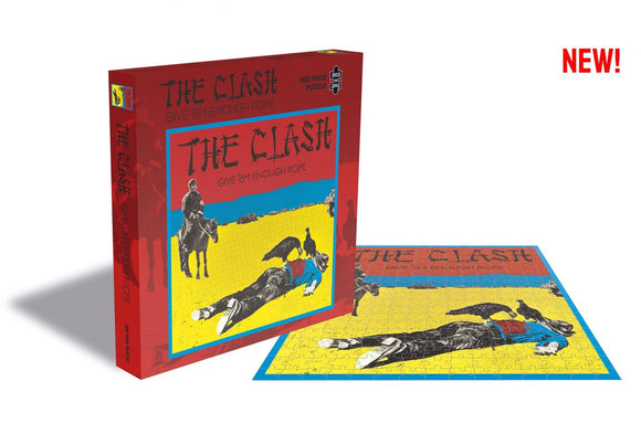 The Clash Give Em Enough Rope Puzzle