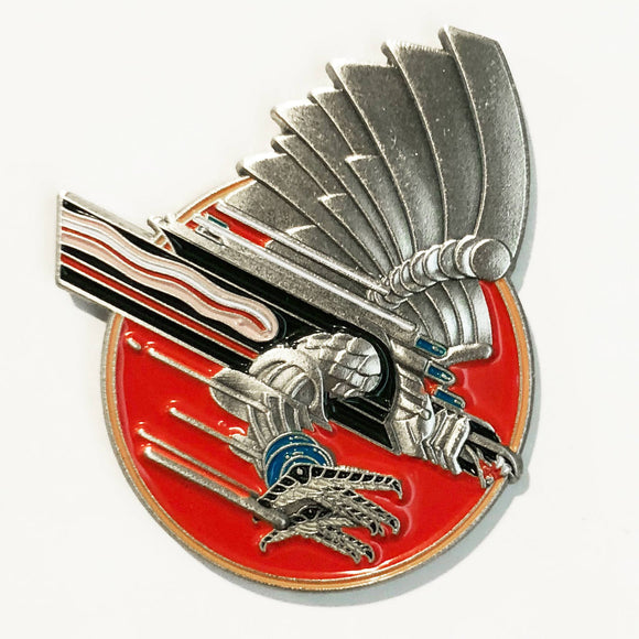 Screaming For Vengeance Pin