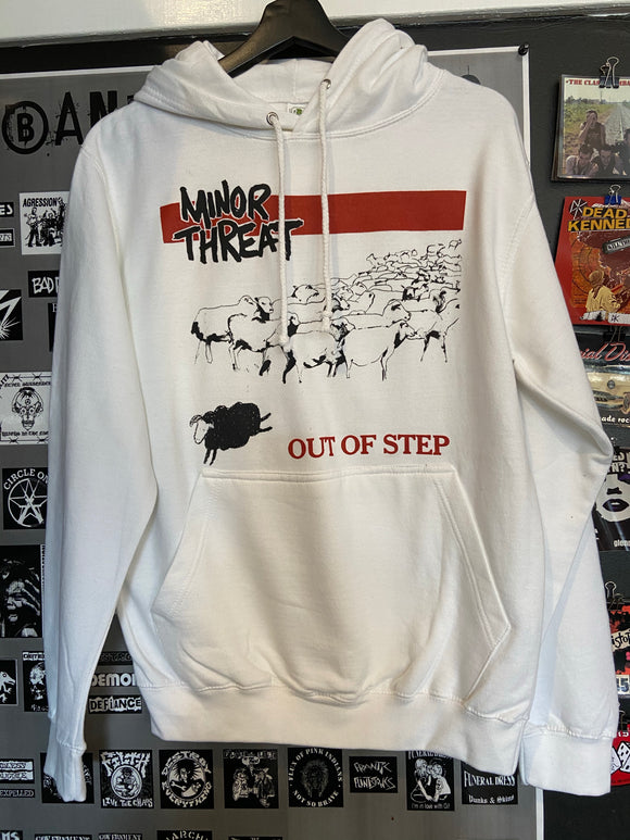 Minor Threat Out of Step Hoodie