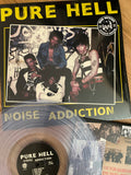 Pure Hell - Noise Addiction LP (Exclusive Clear Pressing)