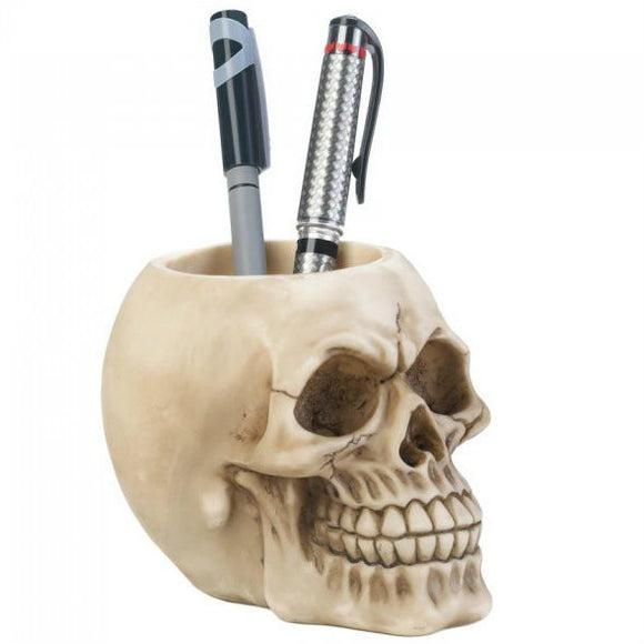 Skull Pen Holder - DeadRockers