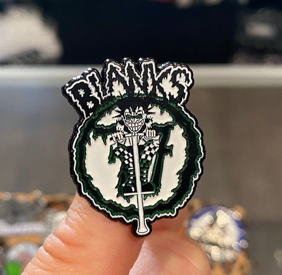 Blanks 77 Logo Pin
