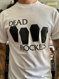 Dead Rockers Coffin Logo Shirt White