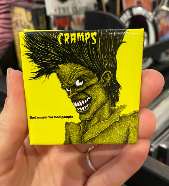 Cramps Bad Music Magnet