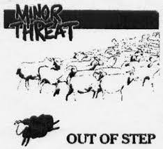 Minor Threat 'Out of Step' Patch - DeadRockers