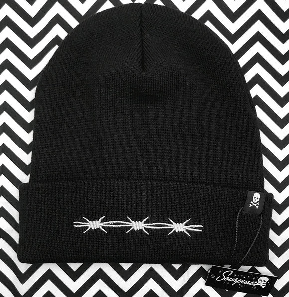 Barbed Wire Knit Beanie