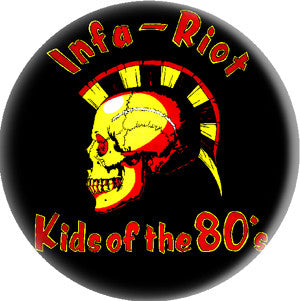Infa Riot Pin - DeadRockers