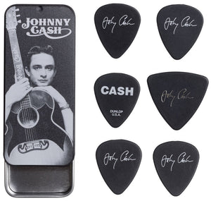 Johnny Cash Dunlop Guitar Picks - DeadRockers