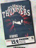 Johnny Thunders Flier Fine Art Print