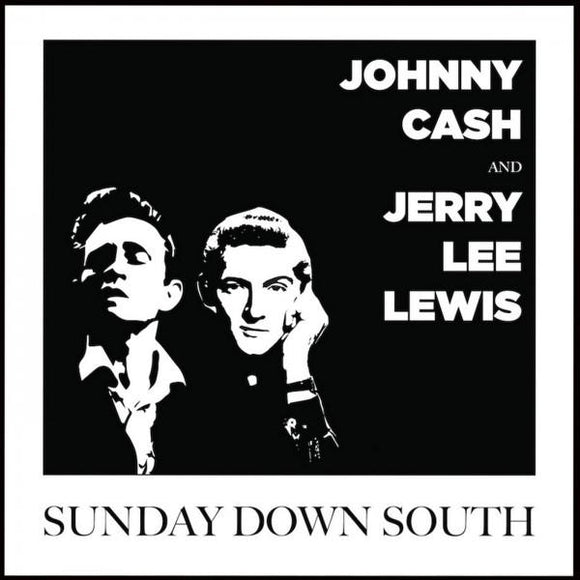 Johnny Cash & Jerry Lee Lewis ‎- Sunday Down South LP