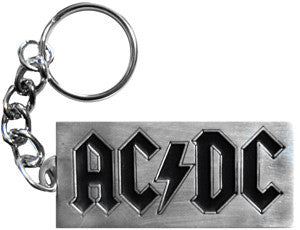 AC/DC Metal Key Chain - DeadRockers