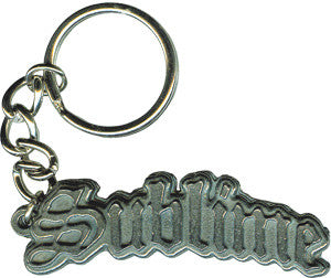 Sublime Metal Key Chain