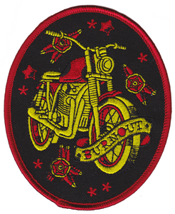 Motorcycle Burnout Patch