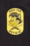 Good For Nothing Back Patch