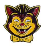 Creepy Cat Enamel Pin - DeadRockers