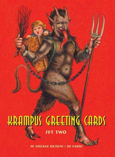 Krampus Greeting Cards Set Two - DeadRockers