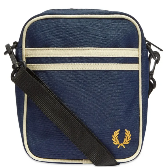Fred Perry Twin Tipped Side Bag Navy