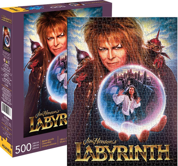 Labyrinth David Bowie Puzzle