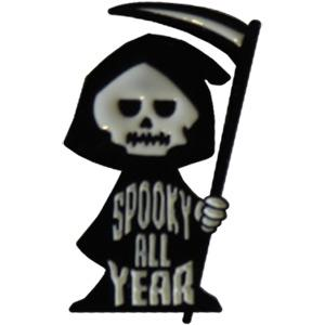 Spooky All Year Lapel Pin