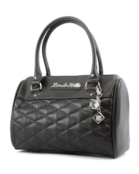 Mini Atomic Tote Black Matte