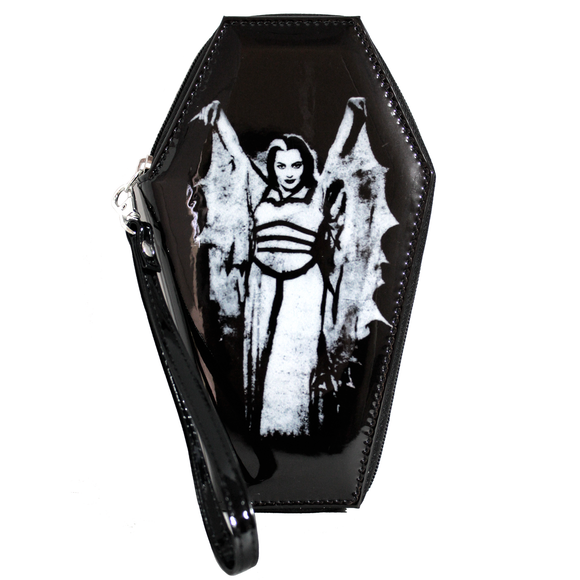 Lily Munster Bat Coffin Wallet