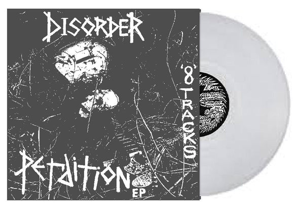 Disorder - Perdition LP Exclusive Clear Vinyl