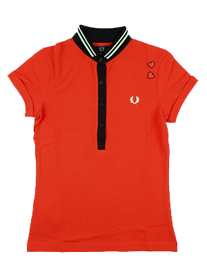 Fred Perry Amy Winehouse Polo Lipstick Red - Limited Edition