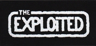Exploited Logo Patch - DeadRockers