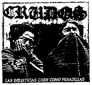 Los Crudos 'Injusticias' Patch - DeadRockers