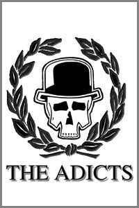 Adicts Skull & Vine Magnet - DeadRockers