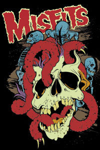 Misfits Worms Magnet - DeadRockers