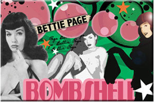 Bettie Page Bombshell Magnet