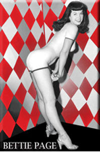 Bettie Page Magnet