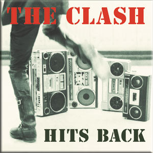 The Clash Hits Back Magnet