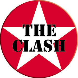 The Clash Star Logo Magnet - DeadRockers