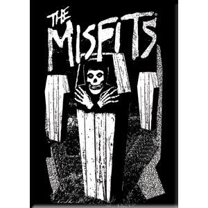 Misfits Coffin Magnet