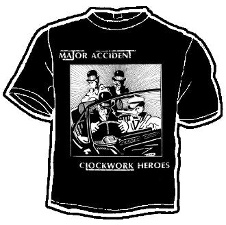 Major Accident Band Tee - DeadRockers