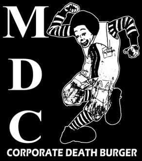 MDC 'Death Burger' Patch - DeadRockers