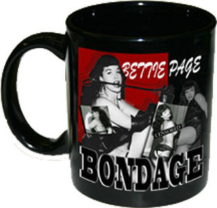 Bettie Page Bondage Mug - DeadRockers