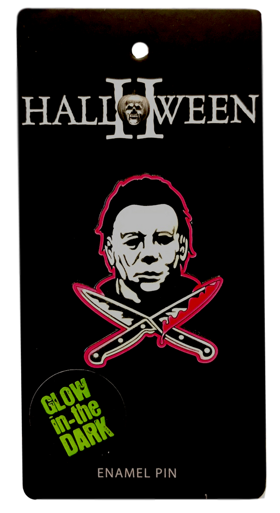 Michael Myers Glow in the Dark Enamel Pin - DeadRockers