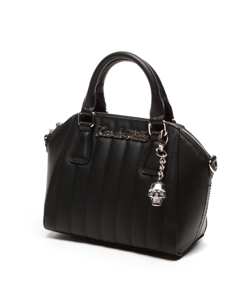 Mini Lady Vamp Tote Black Matte